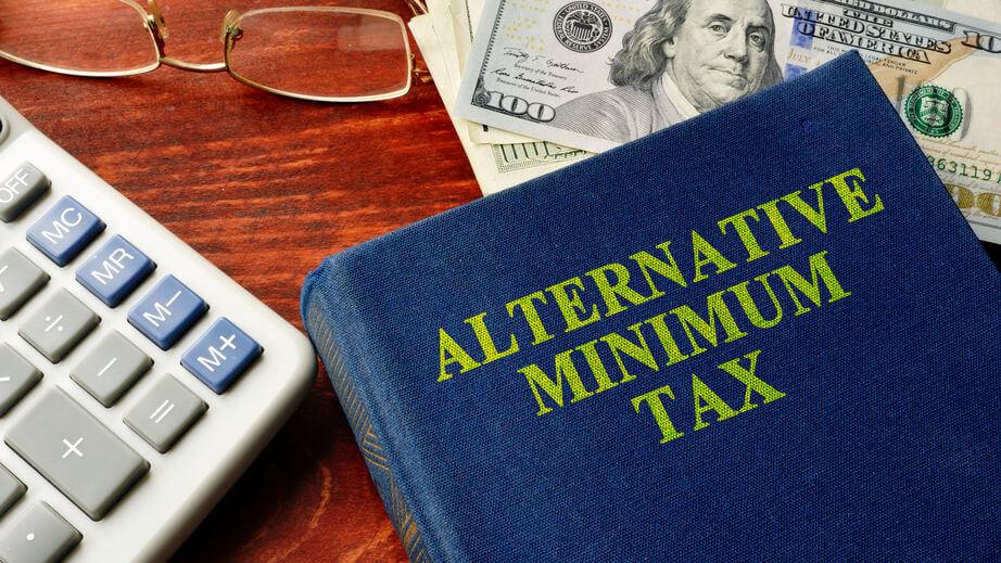 Book with title Alternative Minimum Tax (AMT)