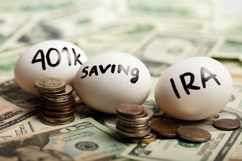 Nest Eggs On Dollar Bills