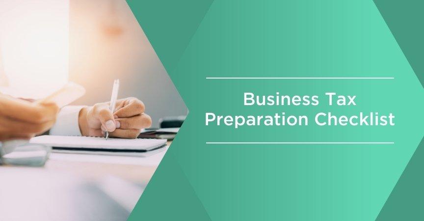 business tax preparation checklist