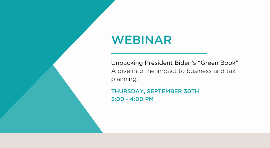 unpacking president bidens green book a dive into the impact to business and tax planning